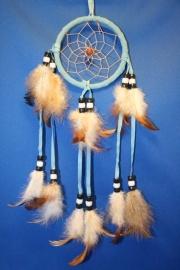 Dromenvanger  licht blauw 9cm