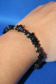 Split armband smal - Zwarte Tourmalijn