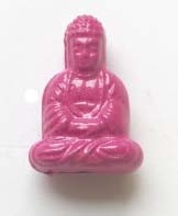 Boeddha acryl - Roze