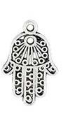 Fatima handje zilver