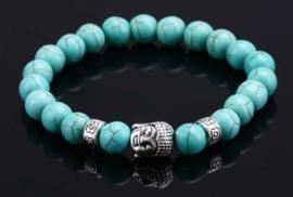 PB Howliet blauw met boeddha