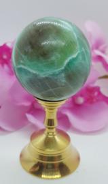 Maansteen Groen bol