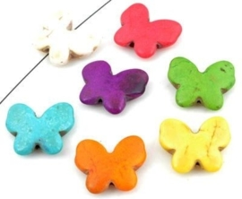 Vlinder  - diverse kleuren
