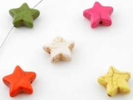 Ster klein - diverse kleuren