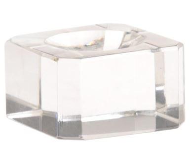 Voetje / standaard glas
