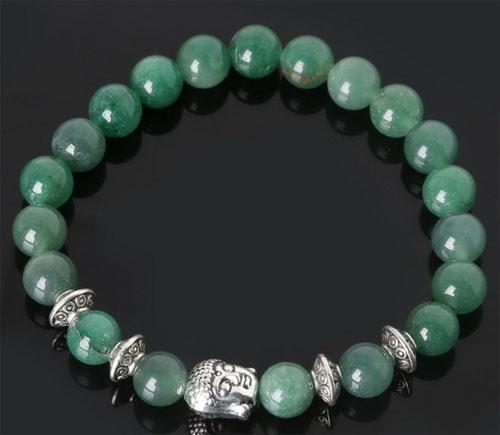 PB Aventurijn groen met Boeddha