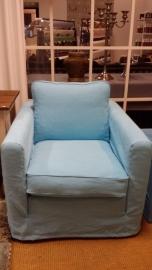 gebruikte linteloo easy living fauteuil met nieuwe  hoes