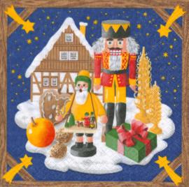 Servetten Kerstland Ertsgebergte