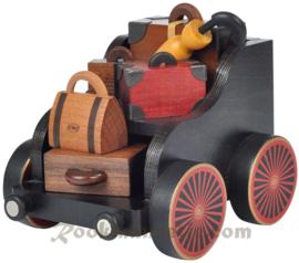 Bagagewagon trein zwart