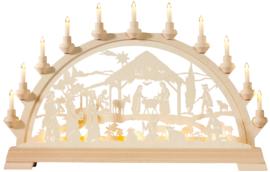 Lichtboog Geboorte Jezus met de 3 koningen
