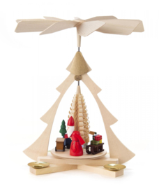 Kerstpiramide Kerstavond