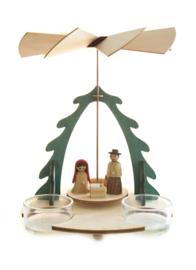Piramide met Kerstverhaal