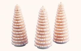 Spaanboompje 4 cm (set 3)
