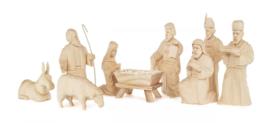 Kerststal figuren (9)