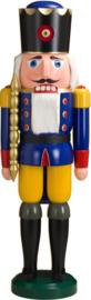 Notenkraker Koning blauw 100cm