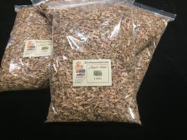 Rookmannetje Rookhout Appel Chips 1 kilo