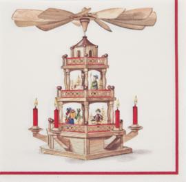 Servetten Kerstpiramide