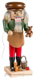 Notenkraker Teddybeermaker 25cm