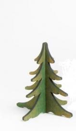 Dennenboom groen 8 cm