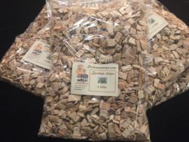 Rookmannetje Rookhout Beuken Chips 1 kilo