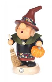 "Rookvrouwtje ""Müllerchen"" Halloween Heks 20cm"