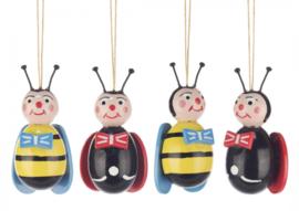 Paastakversiering bijen en meikevers (4)
