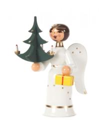 Engeltje met kerstboom