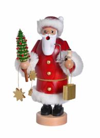 Kerstman met boompje 20cm