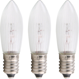 Reservelampjes kerstverlichting 8V (set 3)