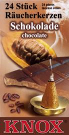 Knox wierook Schokolade