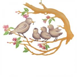 Raambeeld Vogelfamilie