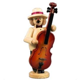 Muzikant met Contrabas