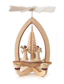 Kerstpiramide met Engeltjes