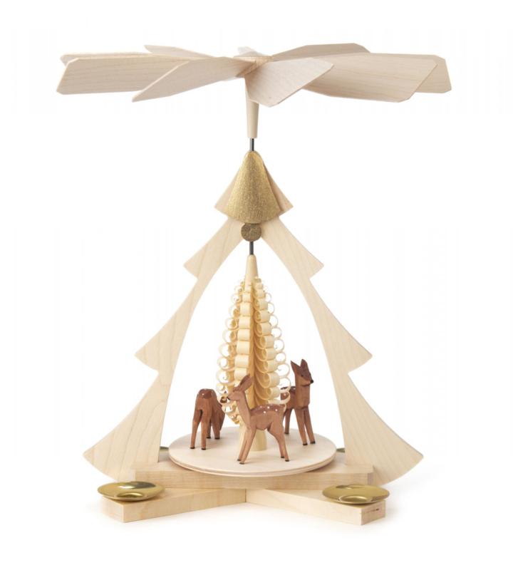 Piramide met reeën