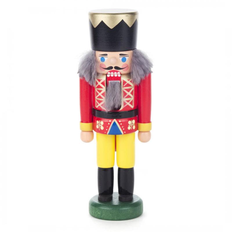 Notenkraker Koning Rood 14cm