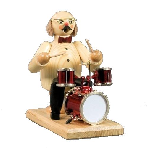 Muzikant met Drumstel
