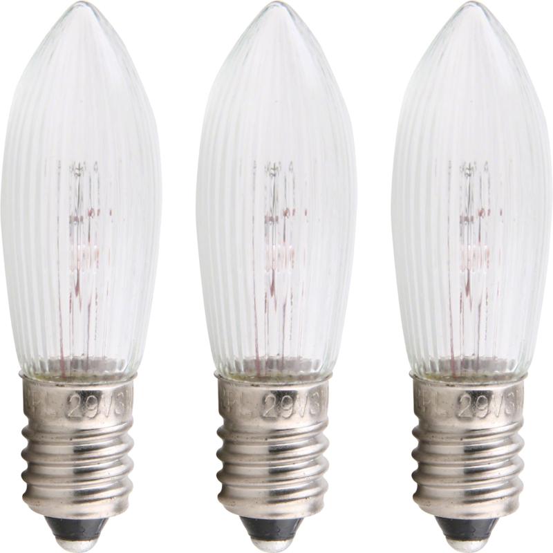 Reservelampjes kerstverlichting 55V (set 3)