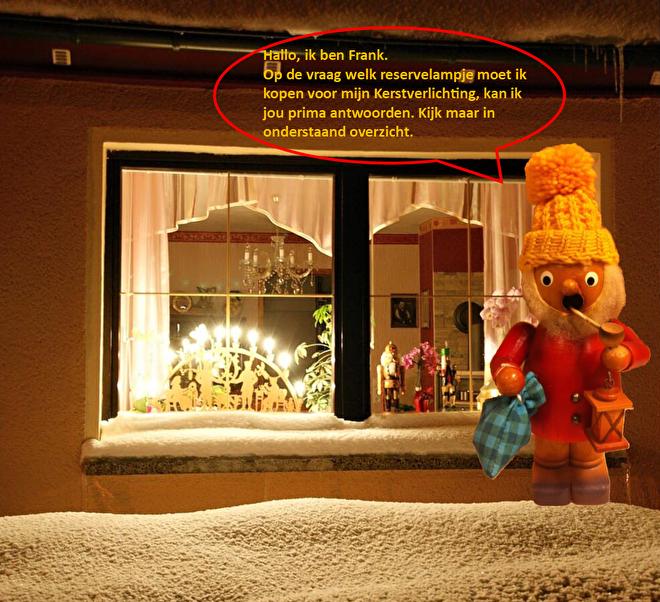 Welk reservelampje gebruiken Kerst