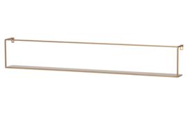 """Wandplank """"Meert"""" 100cm goud"""