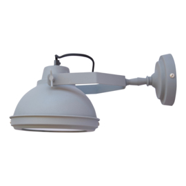 "Wandlamp ""Factory"" Grey"