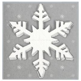 "Banner ""Snowflake"" white"