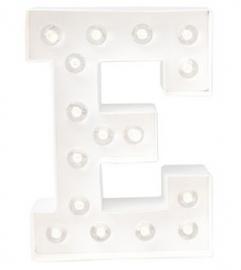 """Light letter """"E"""""""