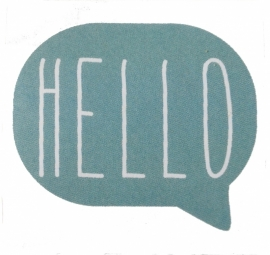 "Stickers ""Hello"""