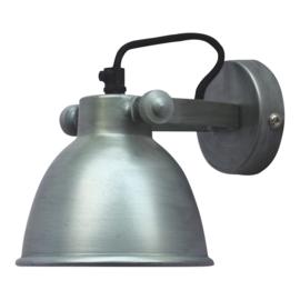 """Wandlamp """"Industrial"""" Zink"""