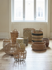 "Basket ""Gradient"" bamboo"