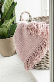 "Ib Laursen plaid ""Pattern"" pink"