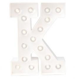 """Light letter """"K"""""""