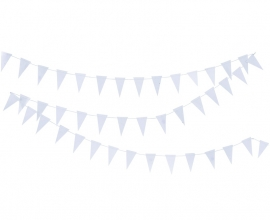 "Banner ""Triangle"" white"