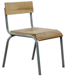 """Children's chair """"Pure"""" grey"""