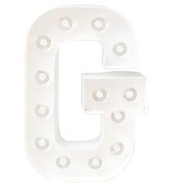 """Light letter """"G"""""""